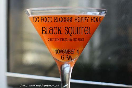 Food blogger happy hour