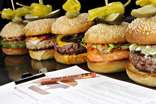 Burger line up 1