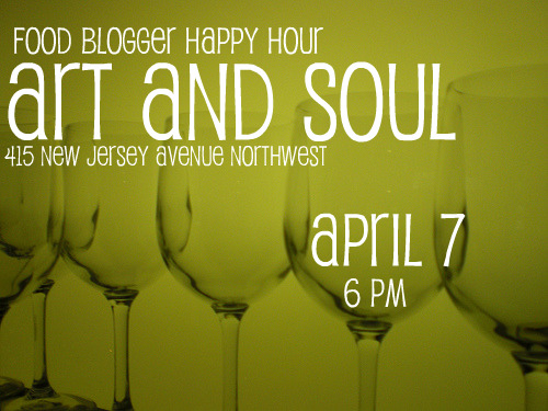 Food Blogger Happy Hour April 7-2