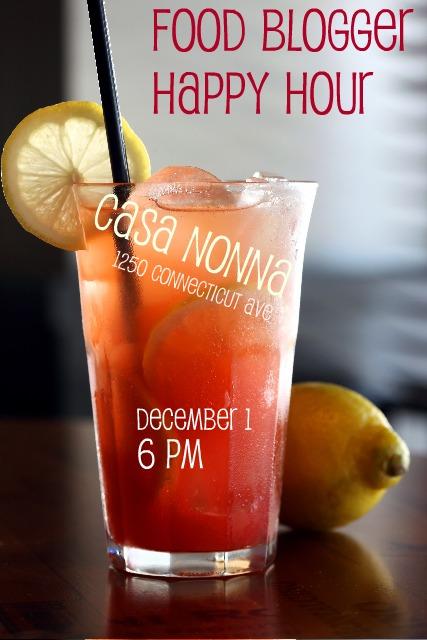 Happy hour flyer december